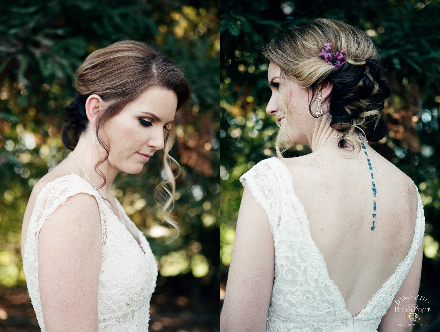Summer Artistry did an AMAZING job on Lauren's bridal hair and makeup, as usual.