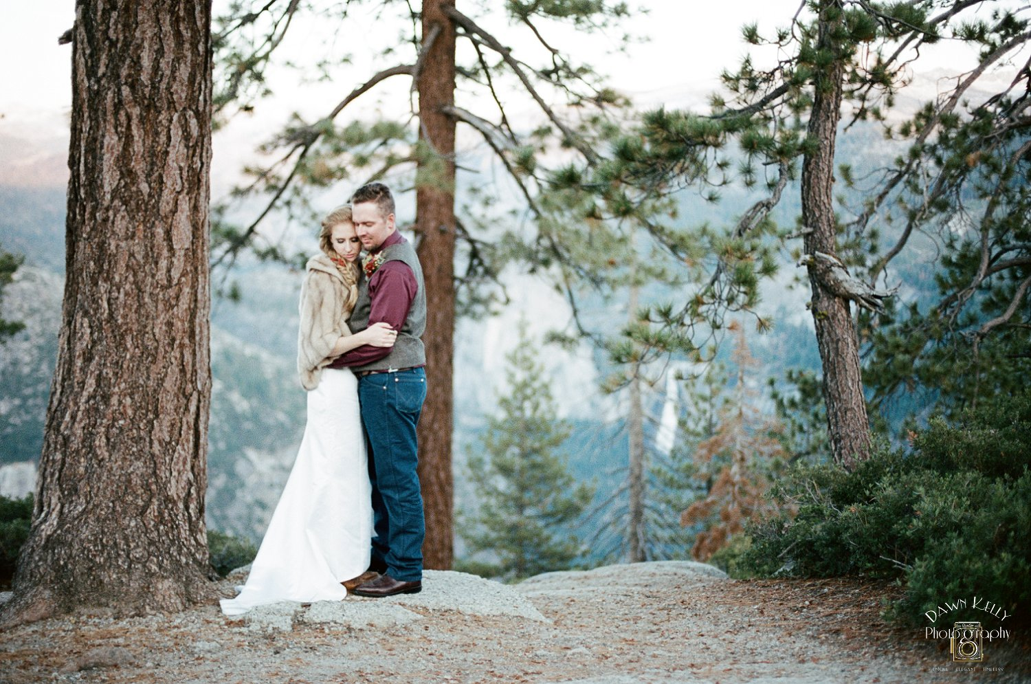 Yosemite wedding pictures