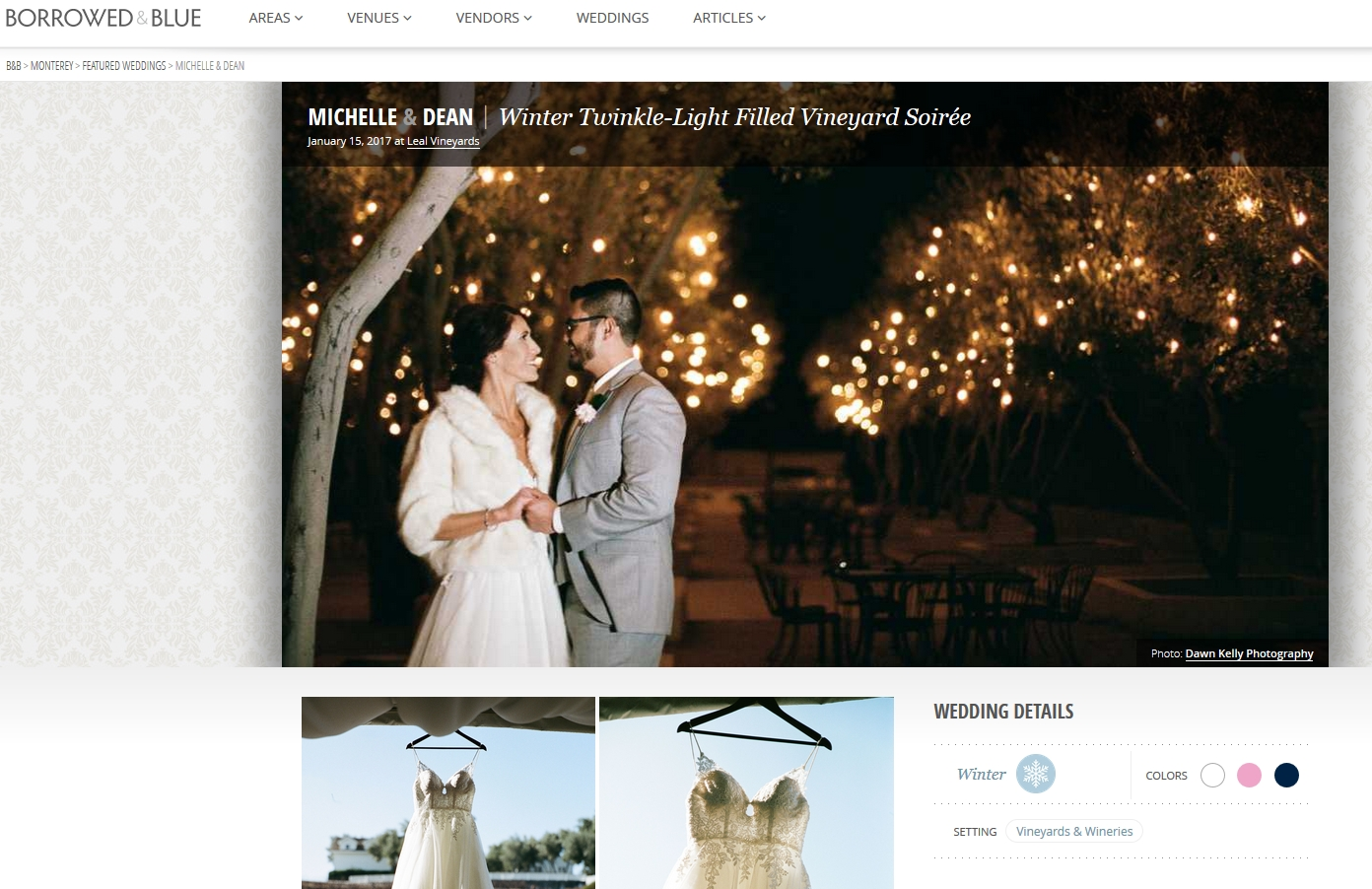 Hollister wedding pics