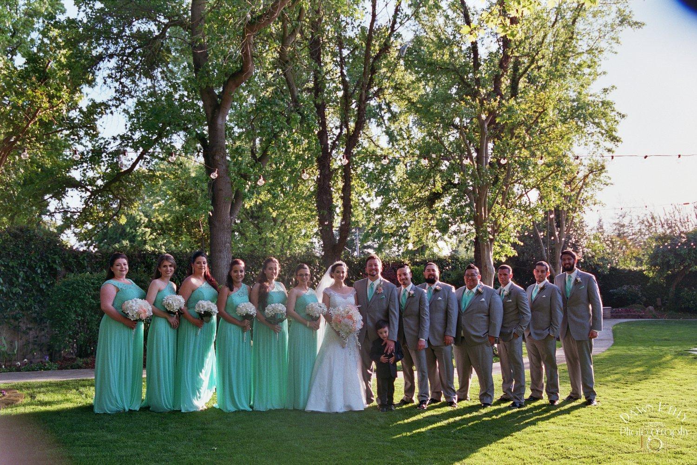 Bridal Party Vintage Gardens
