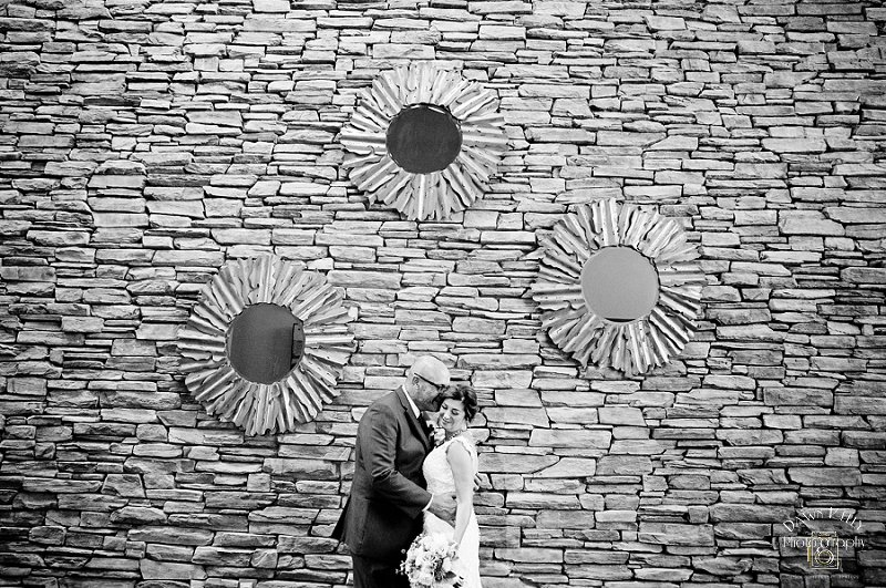 Bride and groom at Spring Creek Golf & Country Club